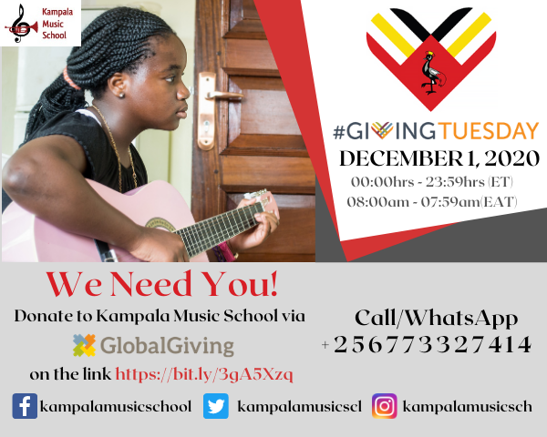 #GivingTuesday – December 1, 2020
