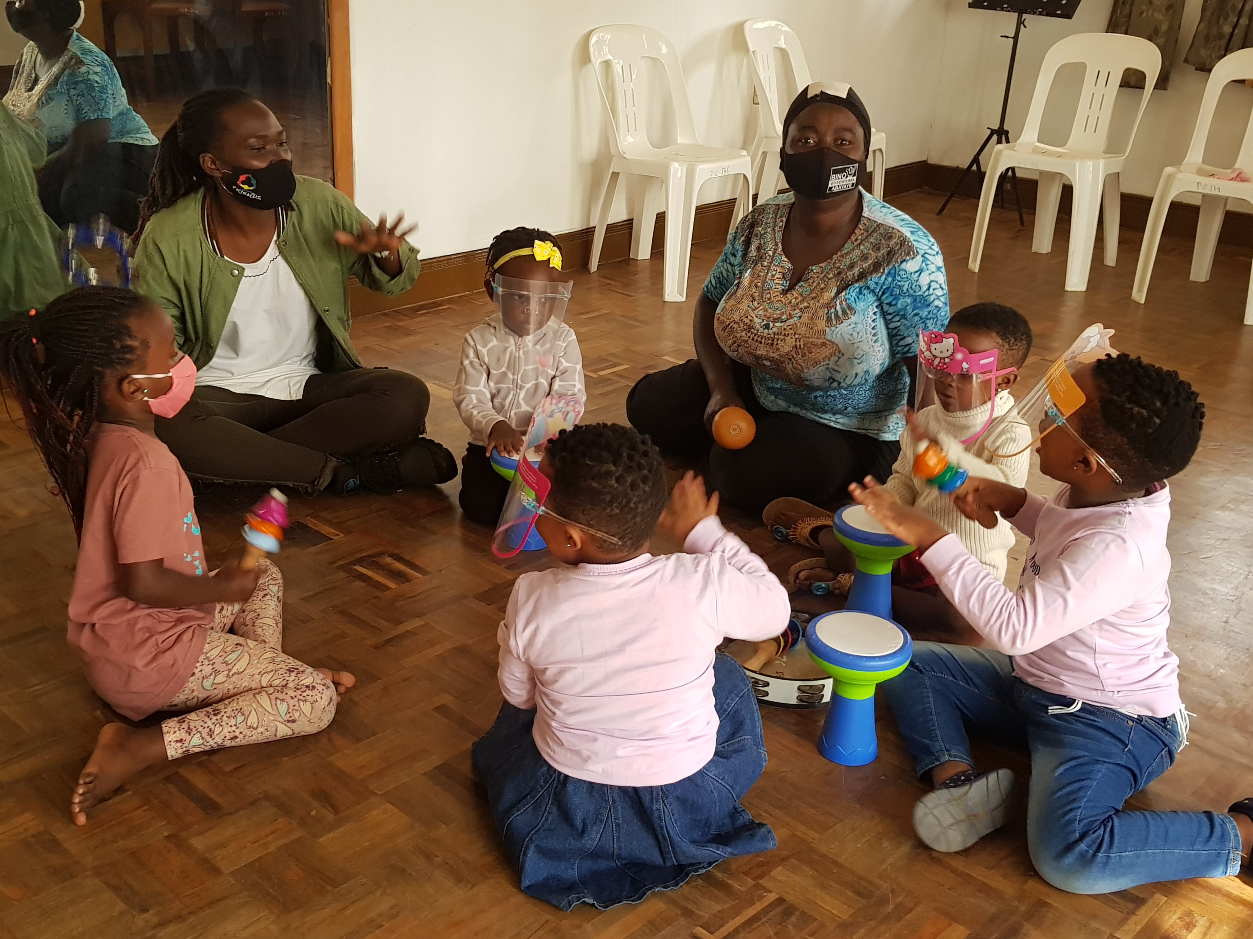 Children's Programme, 3 – 5 year olds