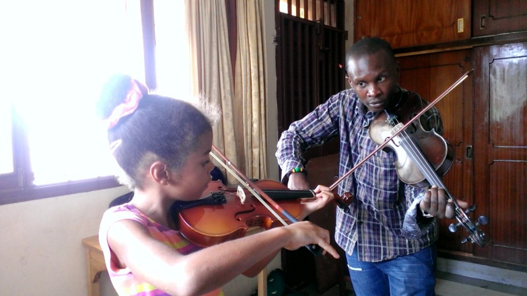 violin kampala music school